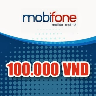 Thẻ Mobiphone 100k
