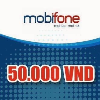 Thẻ Mobiphone 50k